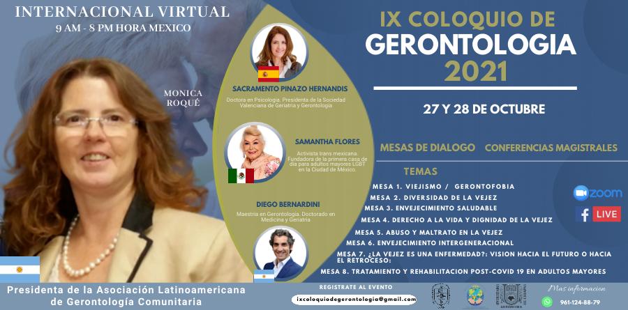 IX Coloquio de Gerontología