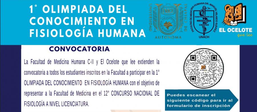 Olimpiada del conocimiento de Fisiología Humana