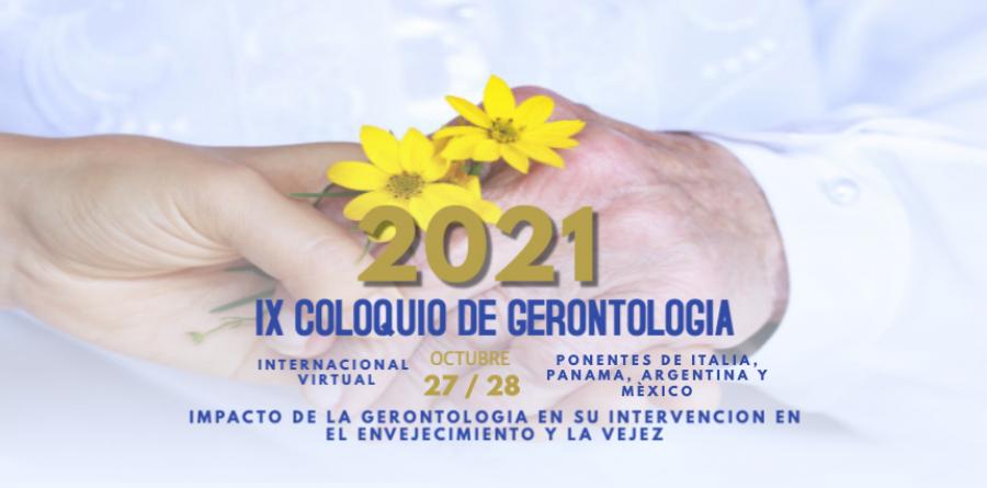IX COLOQUIO DE GERONTOLOGIA