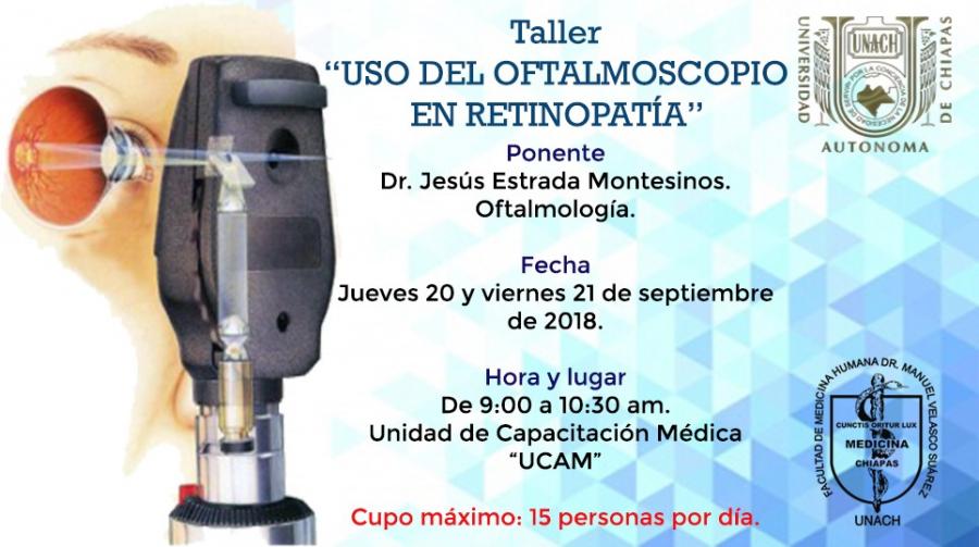 Taller Uso del Oftalmoscopio en Retinopatía
